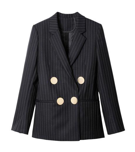 PETAR PETROV()のPinstripe Jacket-NAVY(ジャケット/jacket)-PIN-TS2-93 詳細画像1