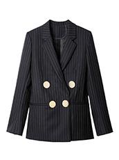 PETAR PETROV() Pinstripe Jacket