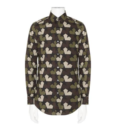 PORTS1961(ポーツ)のStar Camo Shirt-KHAKI(シャツ/shirt)-PM316HCL01-24 詳細画像1