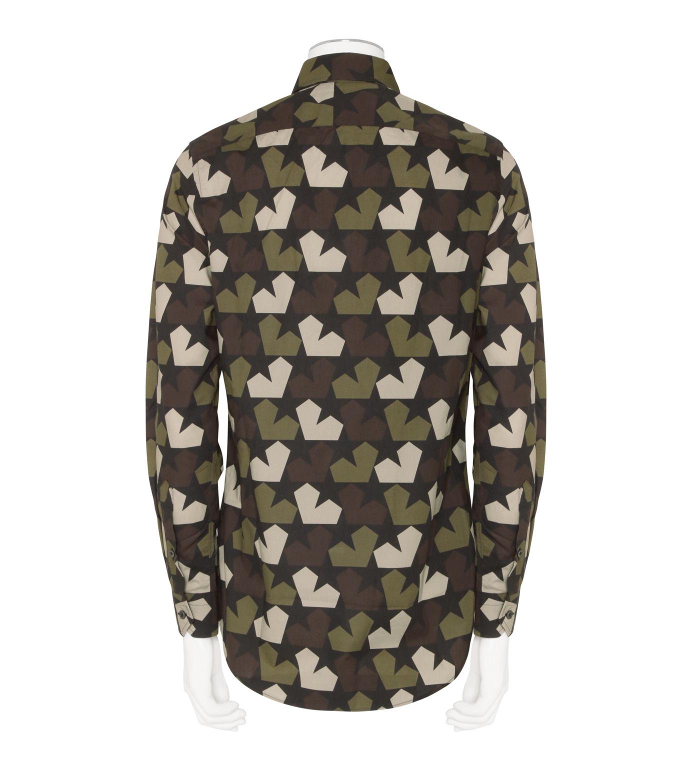 PORTS1961(ポーツ)のStar Camo Shirt-KHAKI(シャツ/shirt)-PM316HCL01-24 拡大詳細画像2