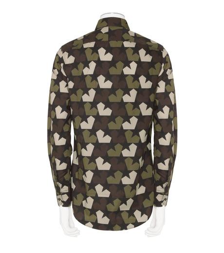PORTS1961(ポーツ)のStar Camo Shirt-KHAKI(シャツ/shirt)-PM316HCL01-24 詳細画像2