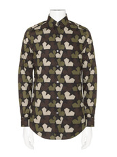 PORTS1961(ポーツ) Star Camo Shirt