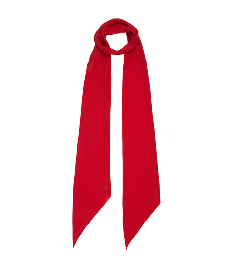 Rockins(ロッキンス)のClassic Skinny Solid-RED(ストール/stole)-PNCSRE-62 詳細画像1