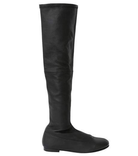 PIPPICHIC(ピッピシック)のStrech Knee High Boots-BLACK(ブーツ/boots)-PP15-STR-N14-13 詳細画像1