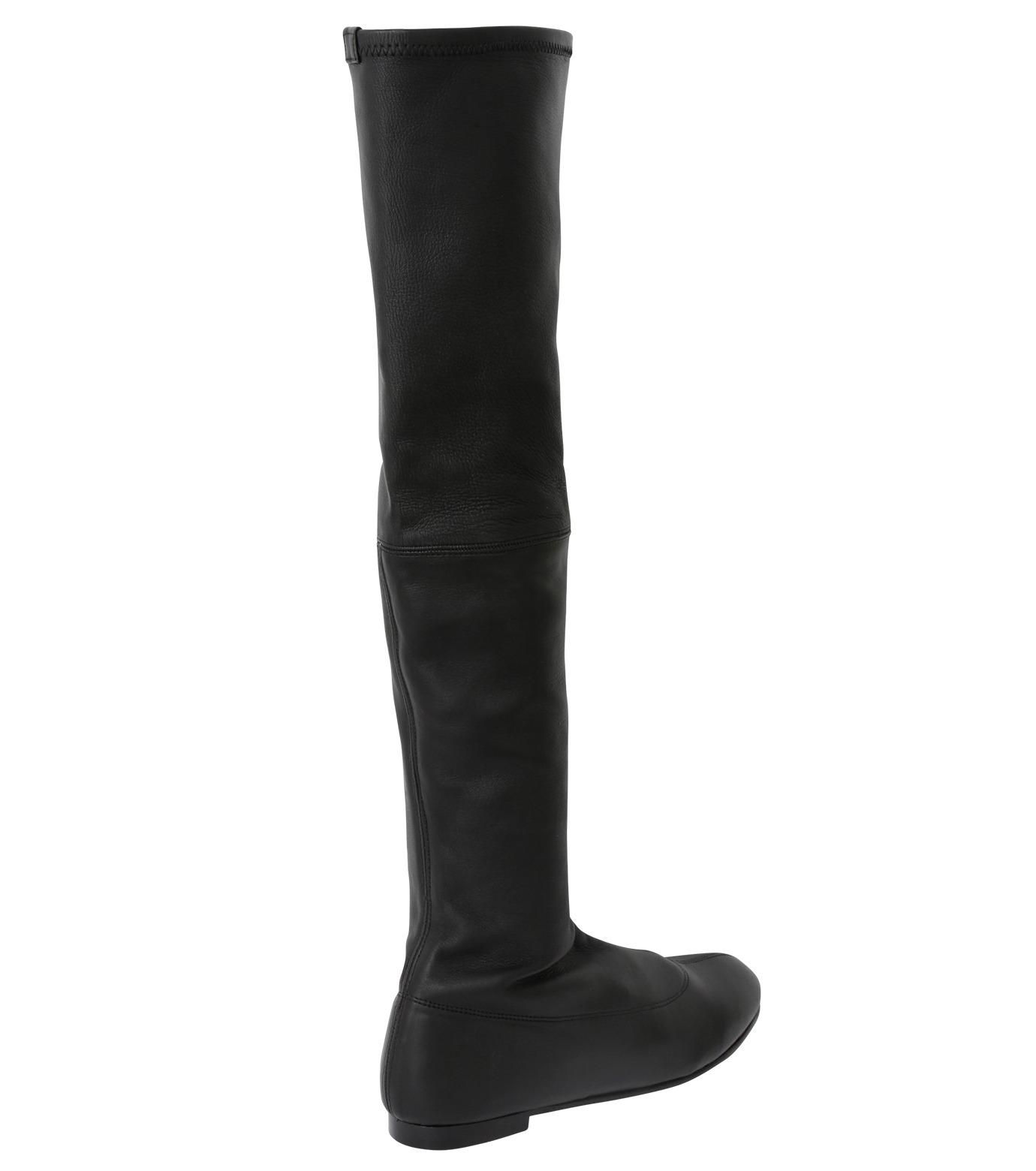 PIPPICHIC(ピッピシック)のStrech Knee High Boots-BLACK(ブーツ/boots)-PP15-STR-N14-13 拡大詳細画像2