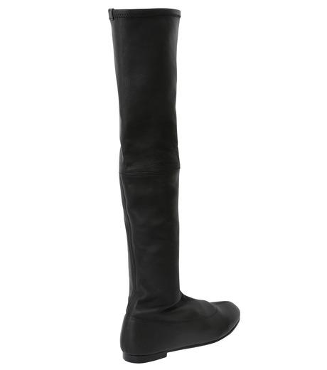 PIPPICHIC(ピッピシック)のStrech Knee High Boots-BLACK(ブーツ/boots)-PP15-STR-N14-13 詳細画像2