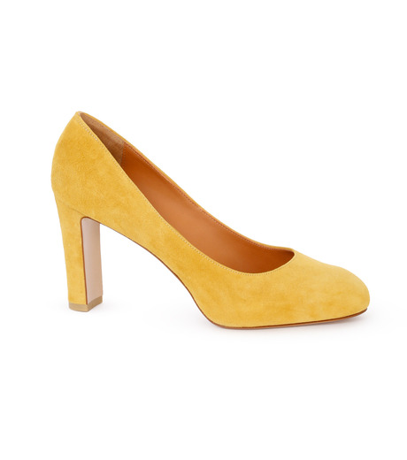 PIPPICHIC(ピッピシック)のInstorm Round Toe Pumps-YELLOW(パンプス/pumps)-PP16-IRP26-L 詳細画像1