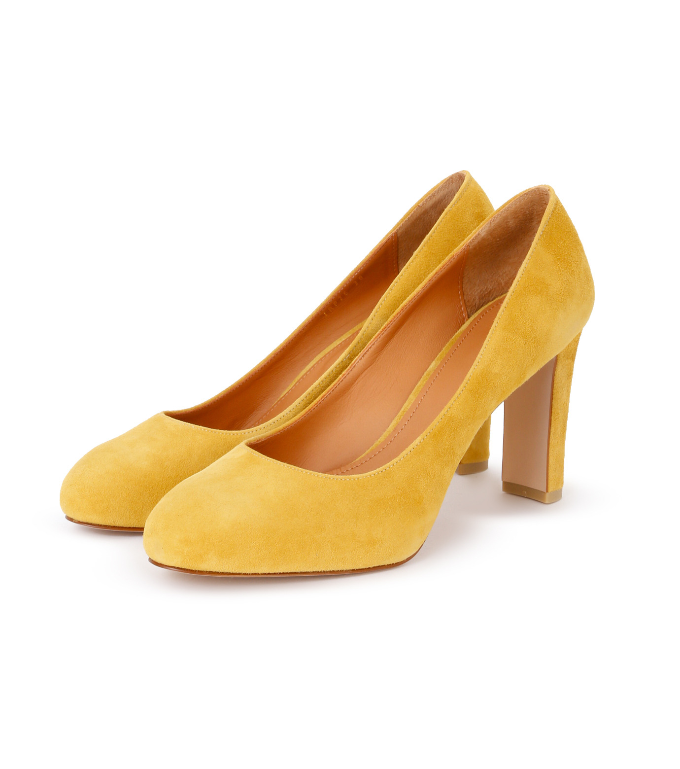 PIPPICHIC(ピッピシック)のInstorm Round Toe Pumps-YELLOW(パンプス/pumps)-PP16-IRP26-L 拡大詳細画像2