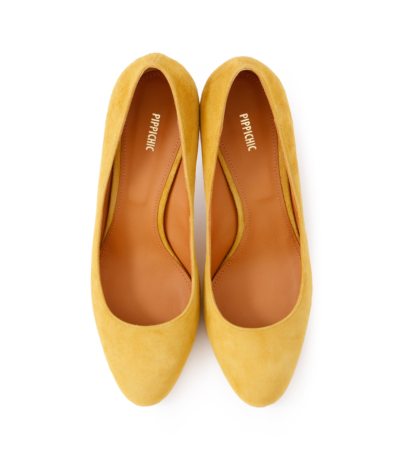PIPPICHIC(ピッピシック)のInstorm Round Toe Pumps-YELLOW(パンプス/pumps)-PP16-IRP26-L 拡大詳細画像4