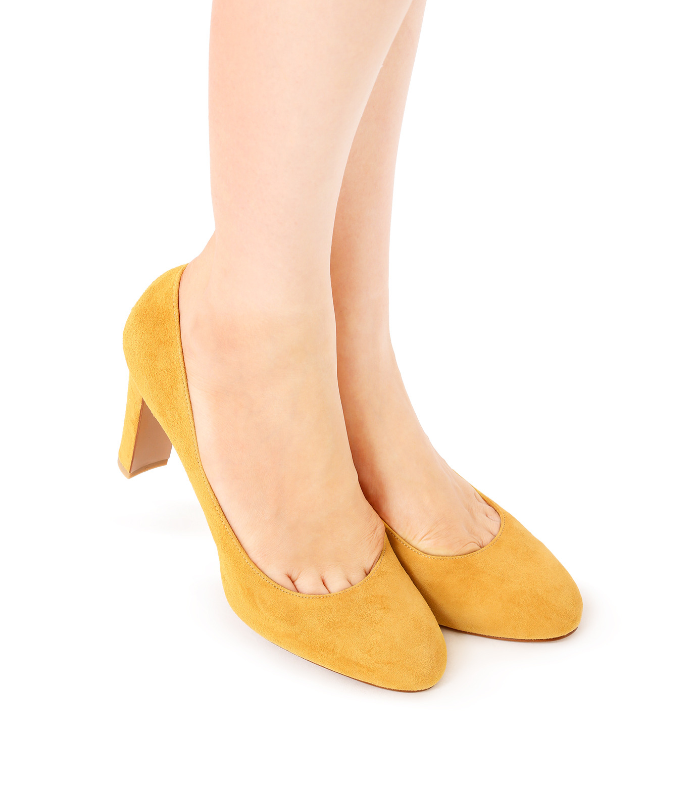 PIPPICHIC(ピッピシック)のInstorm Round Toe Pumps-YELLOW(パンプス/pumps)-PP16-IRP26-L 拡大詳細画像5