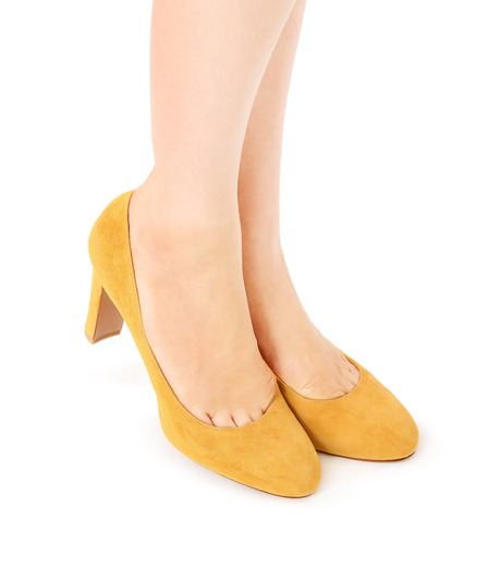PIPPICHIC(ピッピシック)のInstorm Round Toe Pumps-YELLOW(パンプス/pumps)-PP16-IRP26-L 詳細画像5