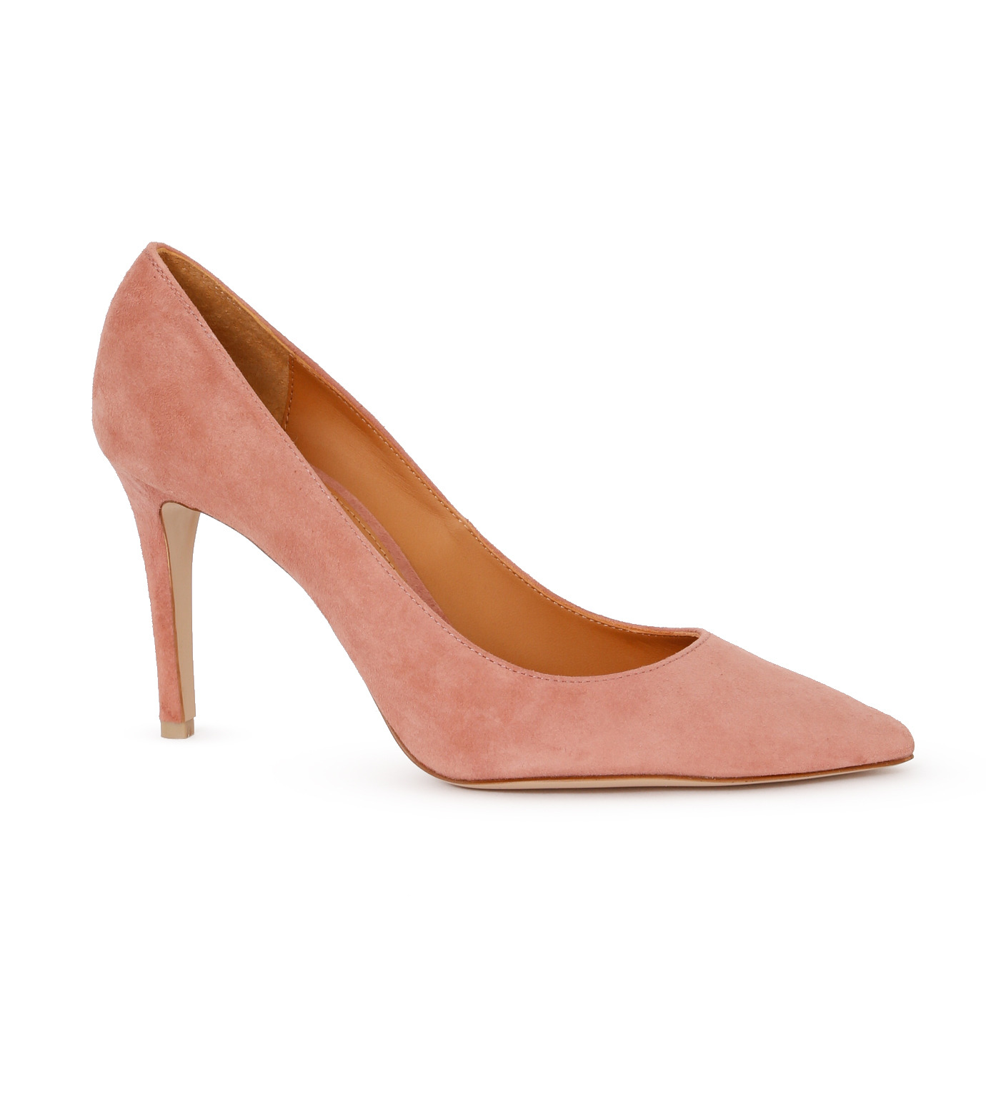 PIPPICHIC(ピッピシック)のPointed Toe 85mm Heel Pumps-LIGHT PINK(パンプス/pumps)-PP16-PPP9-L 拡大詳細画像1