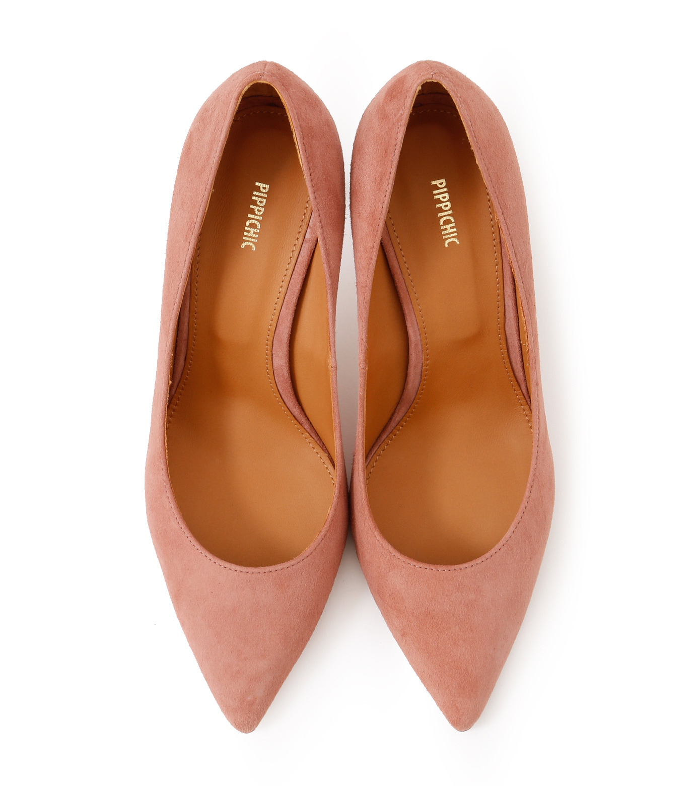 PIPPICHIC(ピッピシック)のPointed Toe 85mm Heel Pumps-LIGHT PINK(パンプス/pumps)-PP16-PPP9-L 拡大詳細画像4