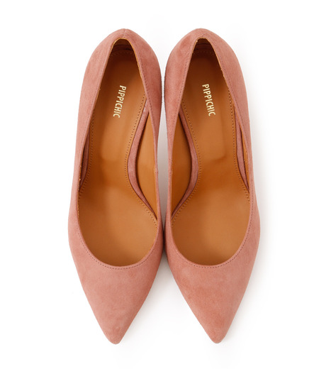PIPPICHIC(ピッピシック)のPointed Toe 85mm Heel Pumps-LIGHT PINK(パンプス/pumps)-PP16-PPP9-L 詳細画像4