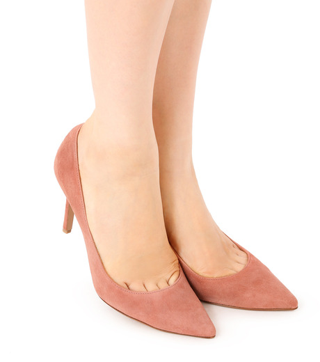 PIPPICHIC(ピッピシック)のPointed Toe 85mm Heel Pumps-LIGHT PINK(パンプス/pumps)-PP16-PPP9-L 詳細画像5