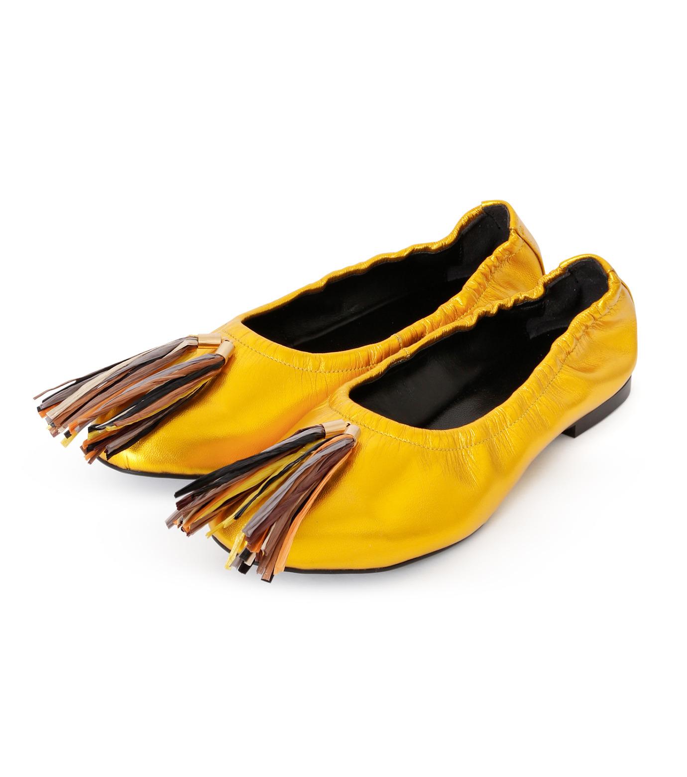 PIPPICHIC(ピッピシック)のballet shoes-GOLD(シューズ/shoes)-PP16BALLET19-2 拡大詳細画像2