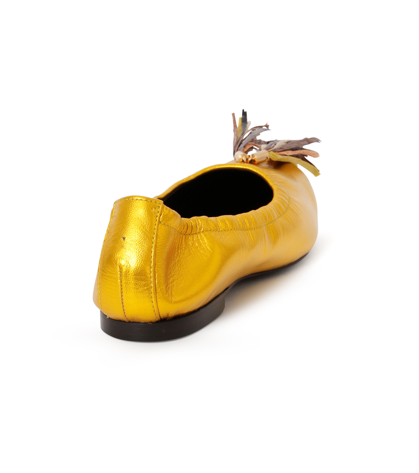 PIPPICHIC(ピッピシック)のballet shoes-GOLD(シューズ/shoes)-PP16BALLET19-2 拡大詳細画像3