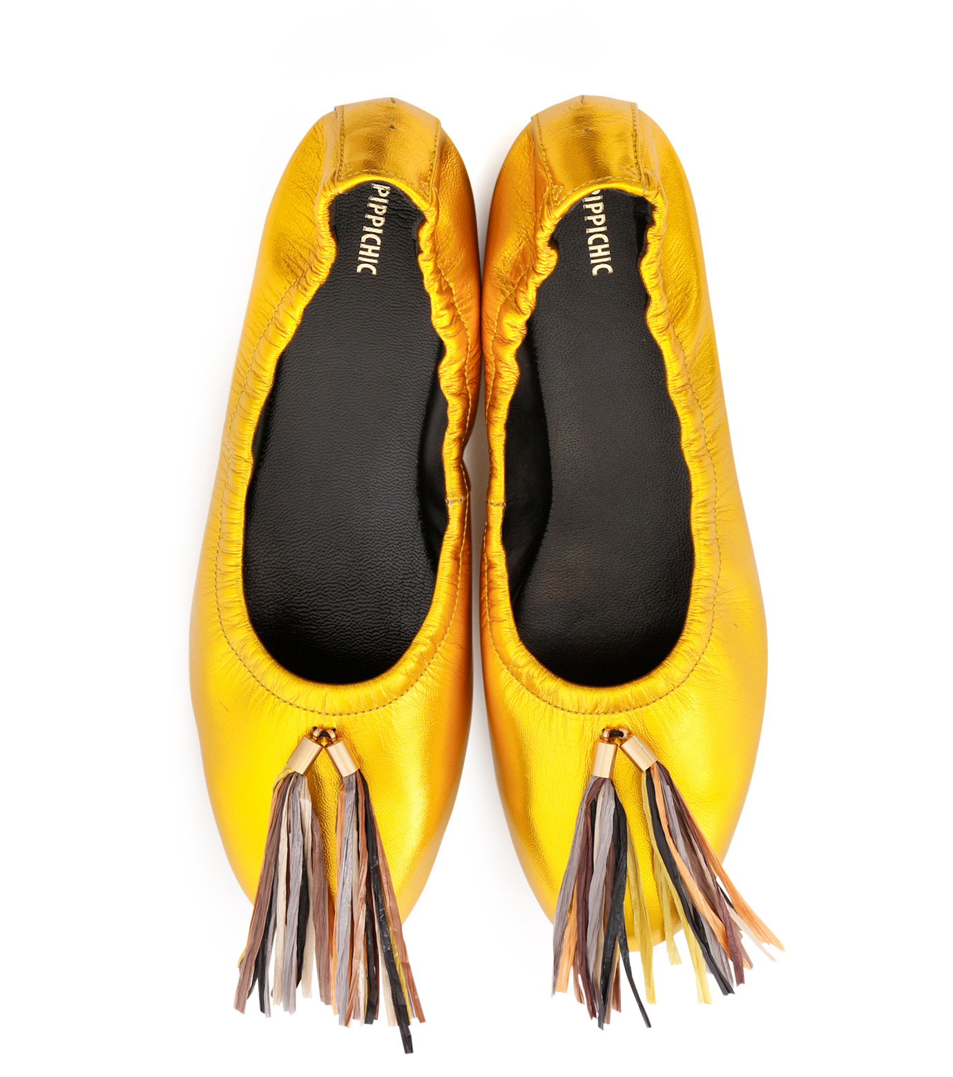 PIPPICHIC(ピッピシック)のballet shoes-GOLD(シューズ/shoes)-PP16BALLET19-2 拡大詳細画像4
