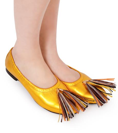 PIPPICHIC(ピッピシック)のballet shoes-GOLD(シューズ/shoes)-PP16BALLET19-2 詳細画像5