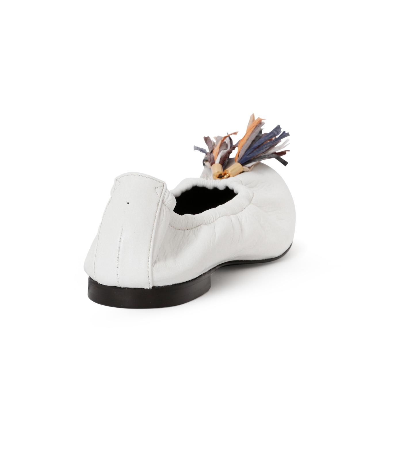PIPPICHIC(ピッピシック)のballet shoes-WHITE(シューズ/shoes)-PP16BALLET19-4 拡大詳細画像3