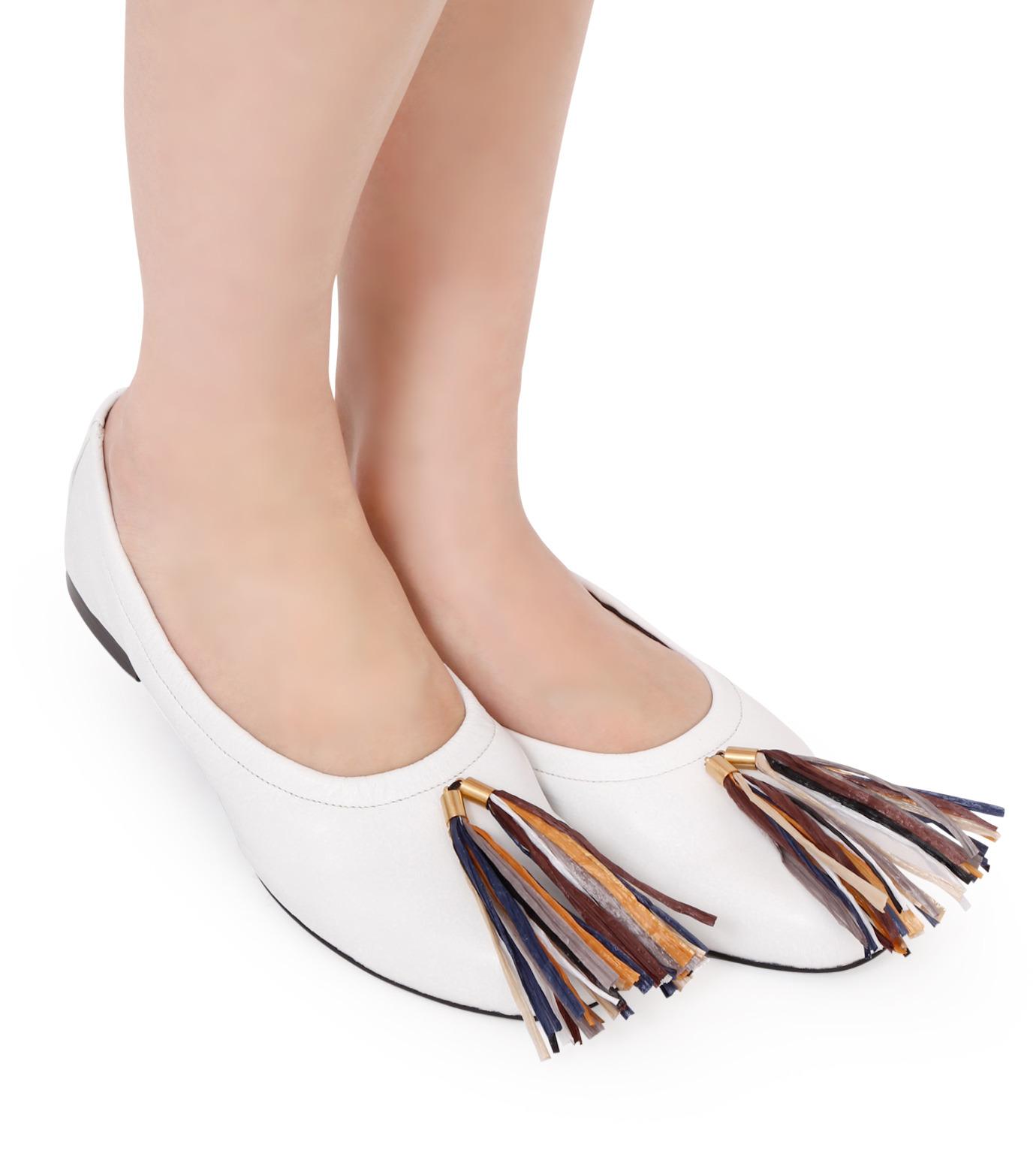 PIPPICHIC(ピッピシック)のballet shoes-WHITE(シューズ/shoes)-PP16BALLET19-4 拡大詳細画像5