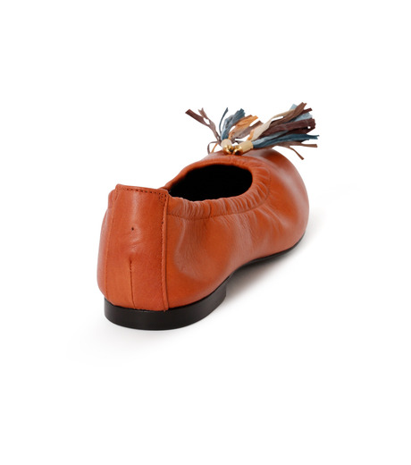 PIPPICHIC(ピッピシック)のballet shoes-DARK BROWN(シューズ/shoes)-PP16BALLET19-43 詳細画像3