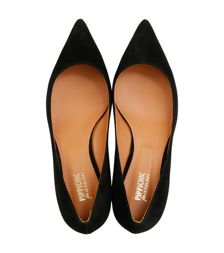 PIPPICHIC(ピッピシック)のPointed Toe 50mm Heel-BLACK(パンプス/pumps)-PP16S-CHR7-L-13 詳細画像4