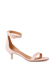PIPPICHIC 50mm Suede Ankle Strap Sandal