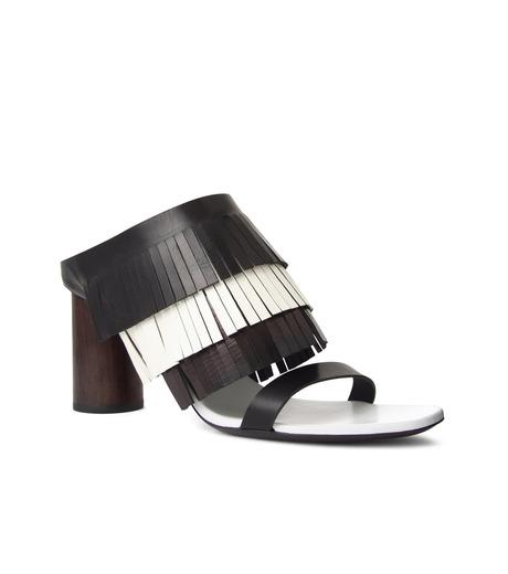 Proenza Schouler(プロエンザ スクーラー)のFringe Mule-BLACK(シューズ/shoes)-PS26017-13 詳細画像1