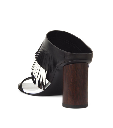 Proenza Schouler(プロエンザ スクーラー)のFringe Mule-BLACK(シューズ/shoes)-PS26017-13 詳細画像2