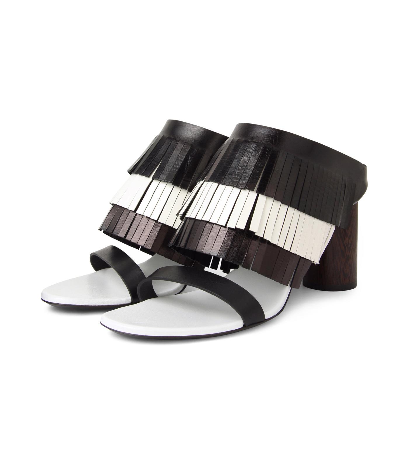 Proenza Schouler(プロエンザ スクーラー)のFringe Mule-BLACK(シューズ/shoes)-PS26017-13 拡大詳細画像3