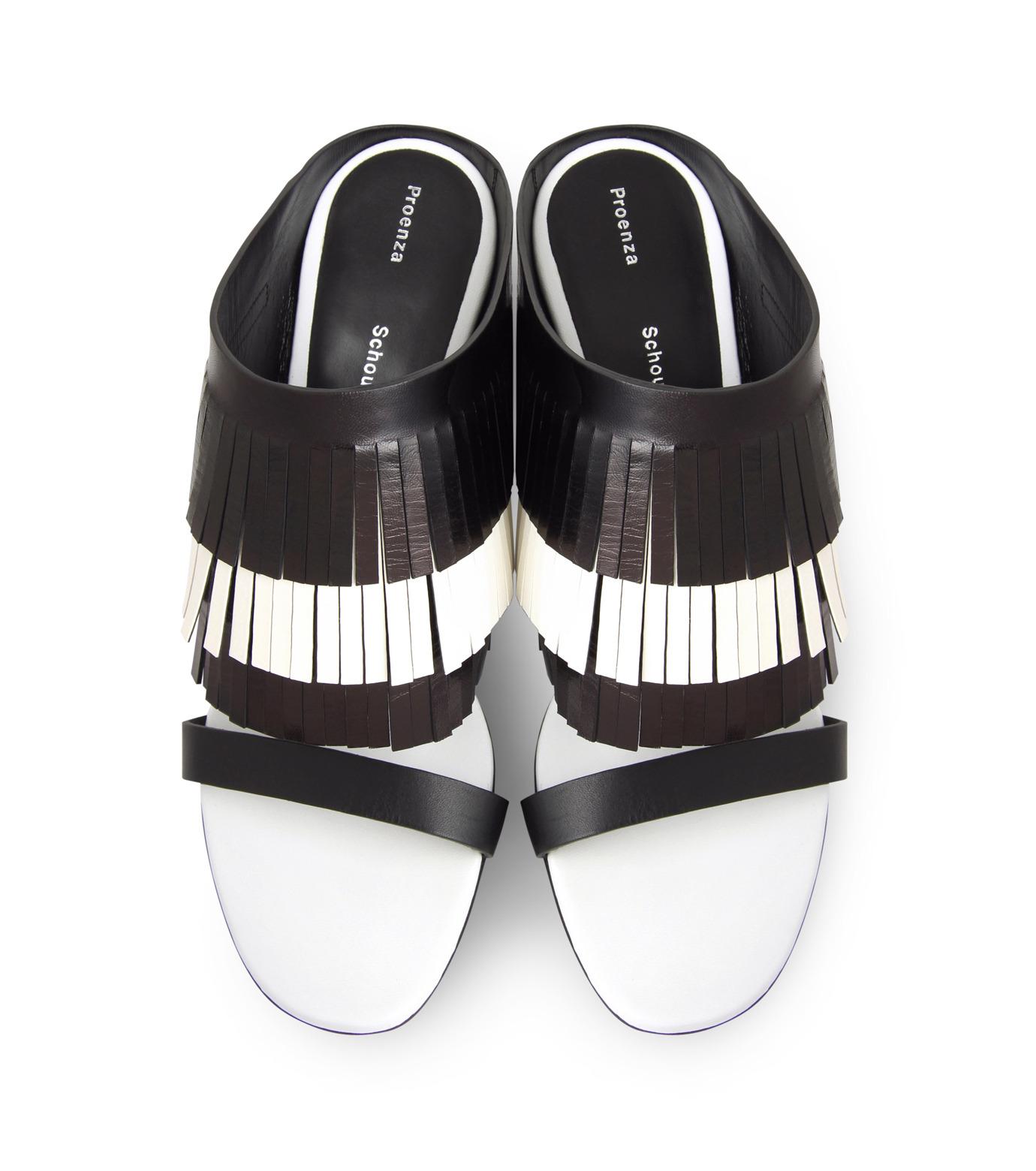 Proenza Schouler(プロエンザ スクーラー)のFringe Mule-BLACK(シューズ/shoes)-PS26017-13 拡大詳細画像4