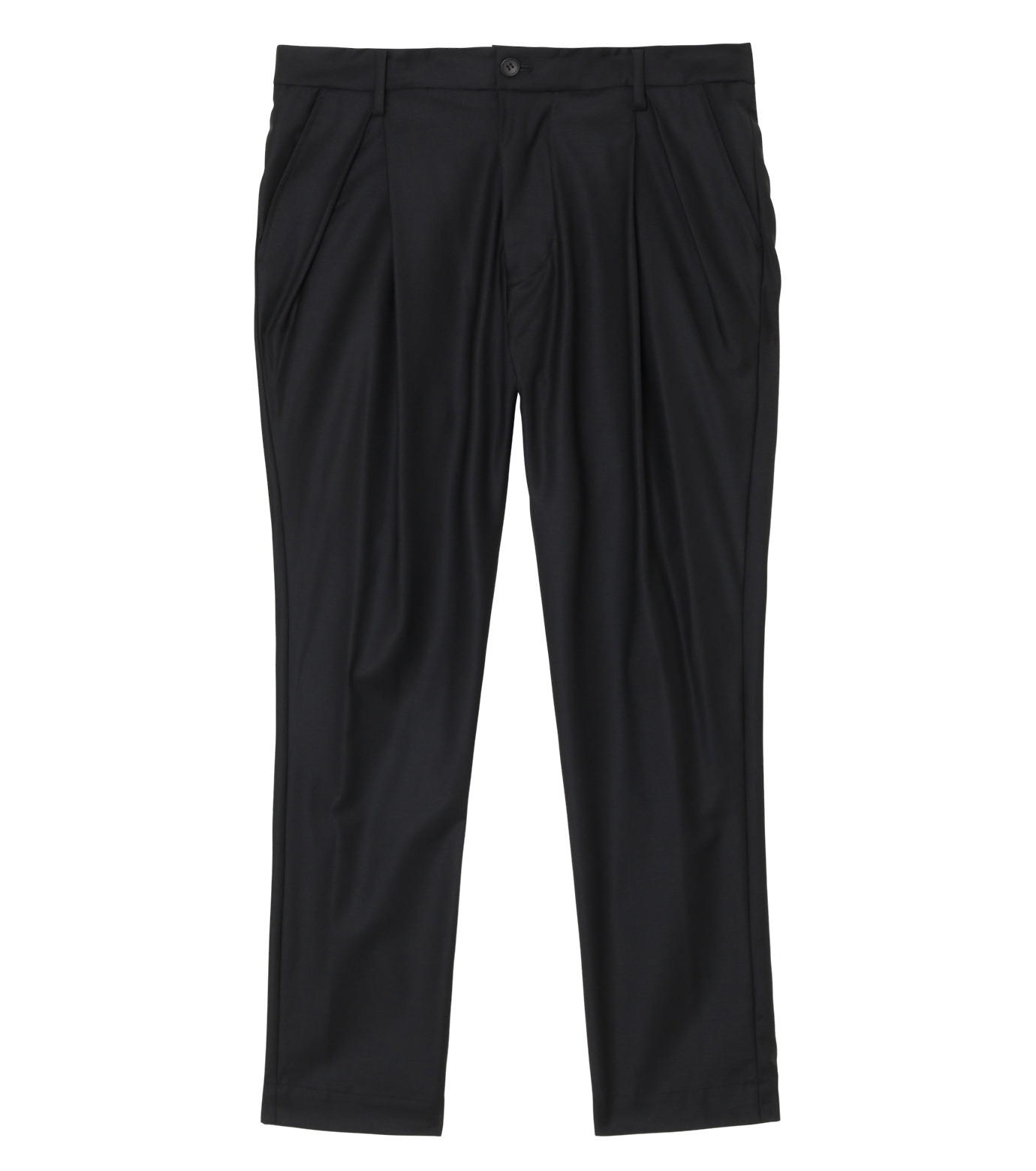 SISE()のWool Tuck Pants-BLACK(パンツ/pants)-PT-07-13 拡大詳細画像1