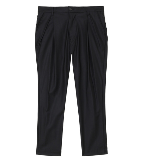 SISE()のWool Tuck Pants-BLACK(パンツ/pants)-PT-07-13 詳細画像1