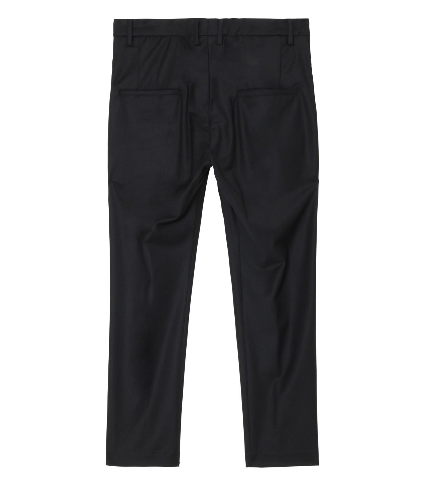 SISE()のWool Tuck Pants-BLACK(パンツ/pants)-PT-07-13 拡大詳細画像2