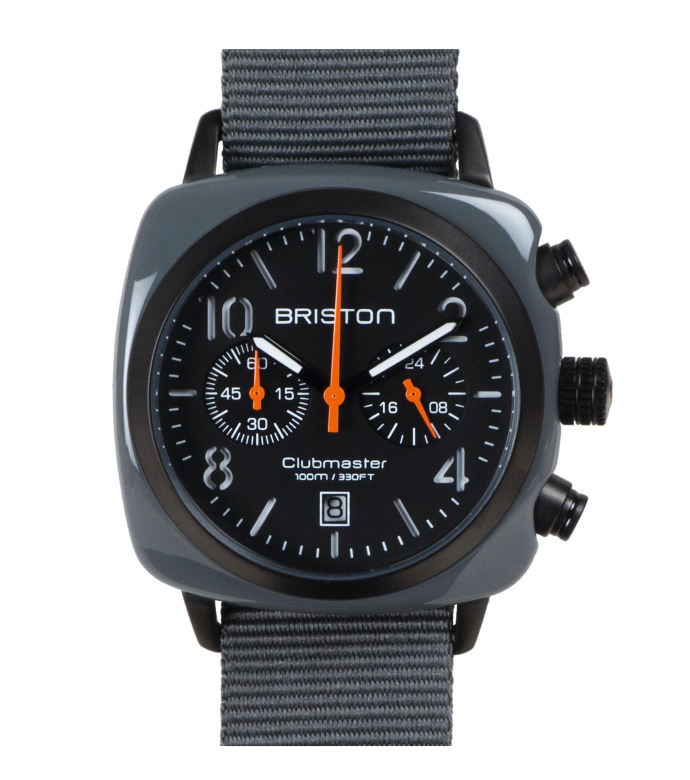 BRISTON(ブリストン)のCHRONO PVD-GRAY(ウォッチ/watch)-PVD-11 拡大詳細画像1