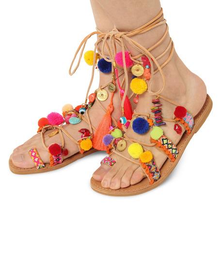 Elina Linardaki(エリナ リナーダキ)のPeny Lane Laceup-MULTI COLOUR(シューズ/shoes)-Penny-Lane-9 詳細画像1