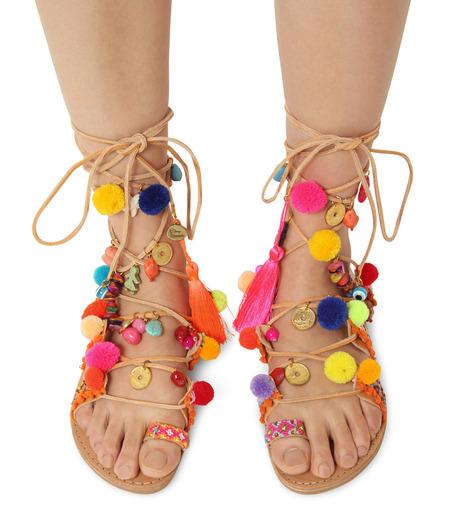 Elina Linardaki(エリナ リナーダキ)のPeny Lane Laceup-MULTI COLOUR(シューズ/shoes)-Penny-Lane-9 詳細画像2