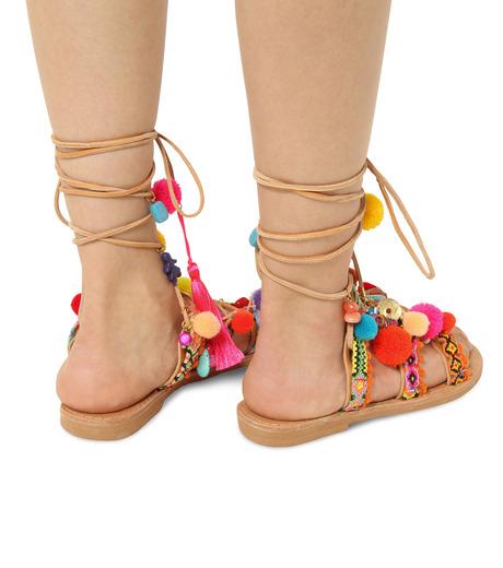 Elina Linardaki(エリナ リナーダキ)のPeny Lane Laceup-MULTI COLOUR(シューズ/shoes)-Penny-Lane-9 詳細画像4