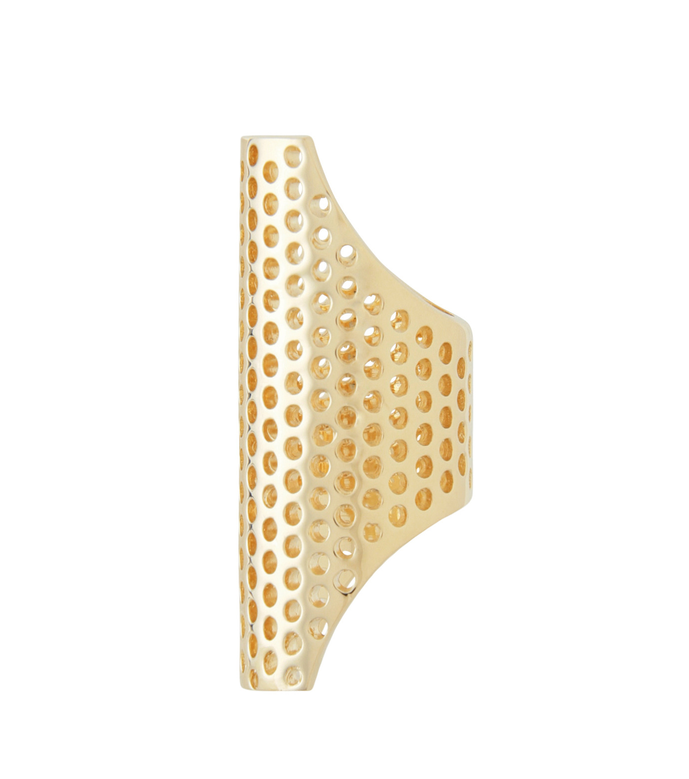 Jennifer Fisher(ジェニファーフィッシャー)のPerforated Ring-GOLD(リング/ring)-Perforated-R-2 拡大詳細画像2