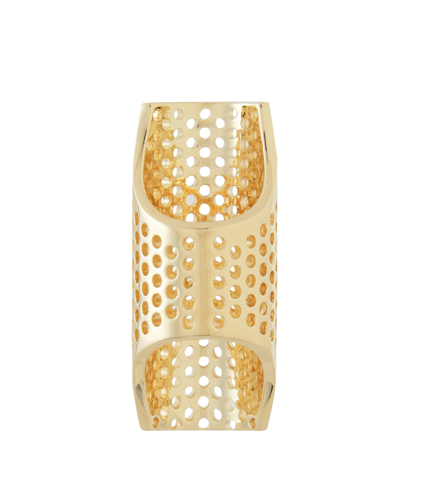 Jennifer Fisher(ジェニファーフィッシャー)のPerforated Ring-GOLD(リング/ring)-Perforated-R-2 拡大詳細画像3
