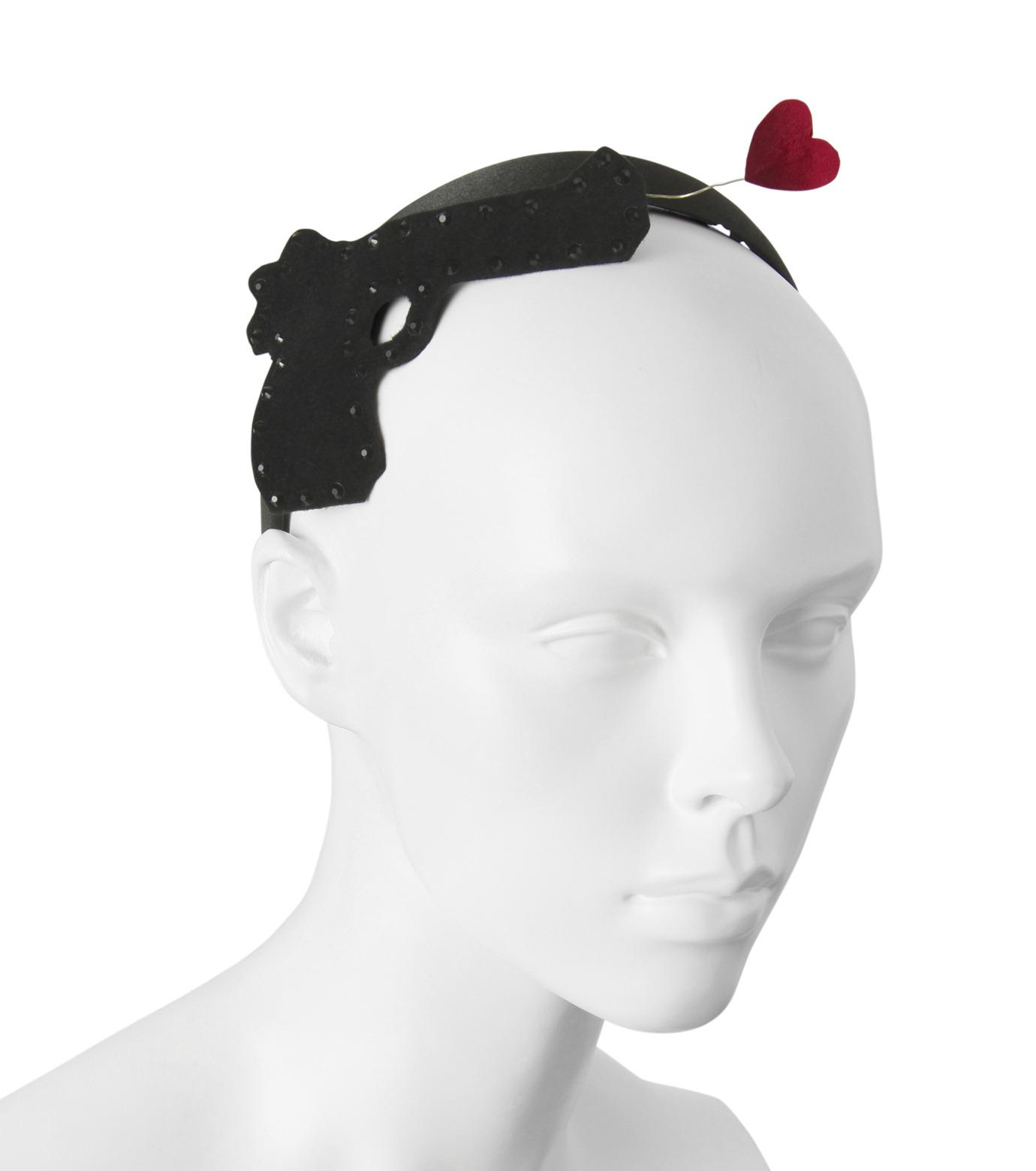 Victoria Grant(ヴィクトリア グラント)のPistol Headband-BLACK(アクセサリー/accessory)-Pistol-13 拡大詳細画像3