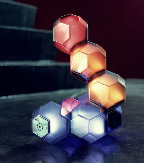 QisDesign(キスデザイン)のCrystal Table Lamp-MULTI COLOUR(ライト/light)-QDL0001-9 詳細画像4