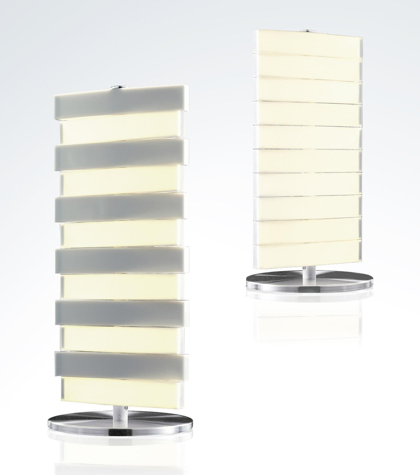QisDesign(キスデザイン)のPiano Table Lamp-SILVER(ライト/light)-QDL0002-1 拡大詳細画像1