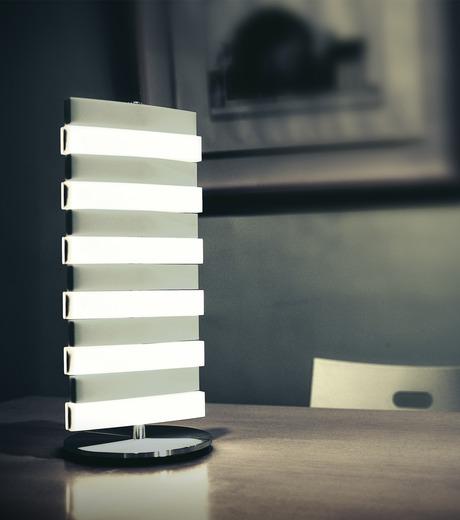 QisDesign(キスデザイン)のPiano Table Lamp-SILVER(ライト/light)-QDL0002-1 詳細画像2