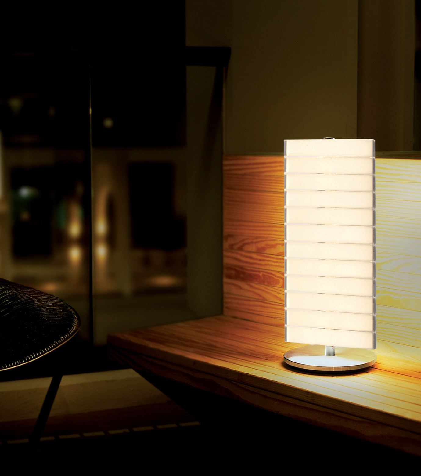 QisDesign(キスデザイン)のPiano Table Lamp-SILVER(ライト/light)-QDL0002-1 拡大詳細画像3