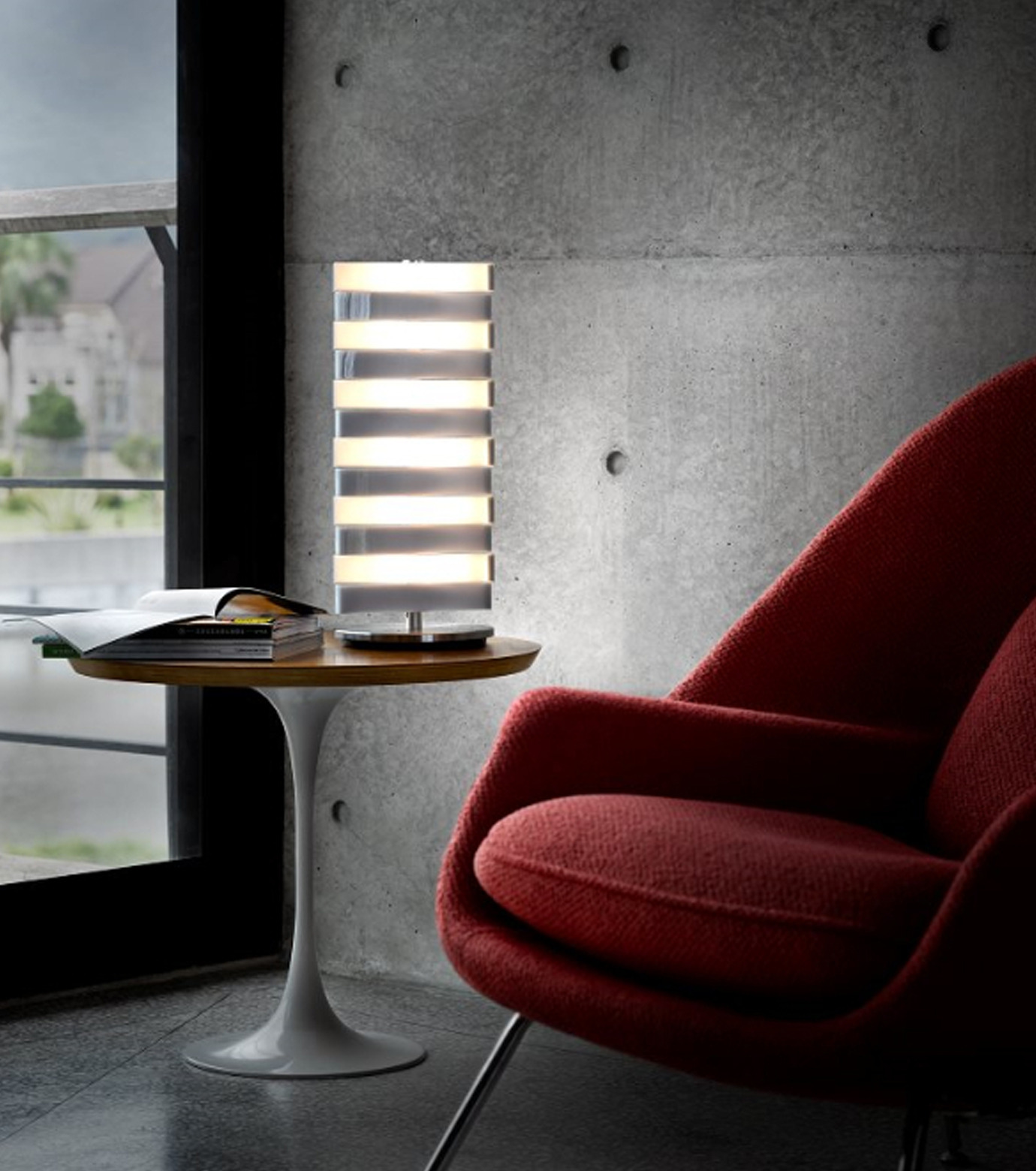QisDesign(キスデザイン)のPiano Table Lamp-SILVER(ライト/light)-QDL0002-1 拡大詳細画像5