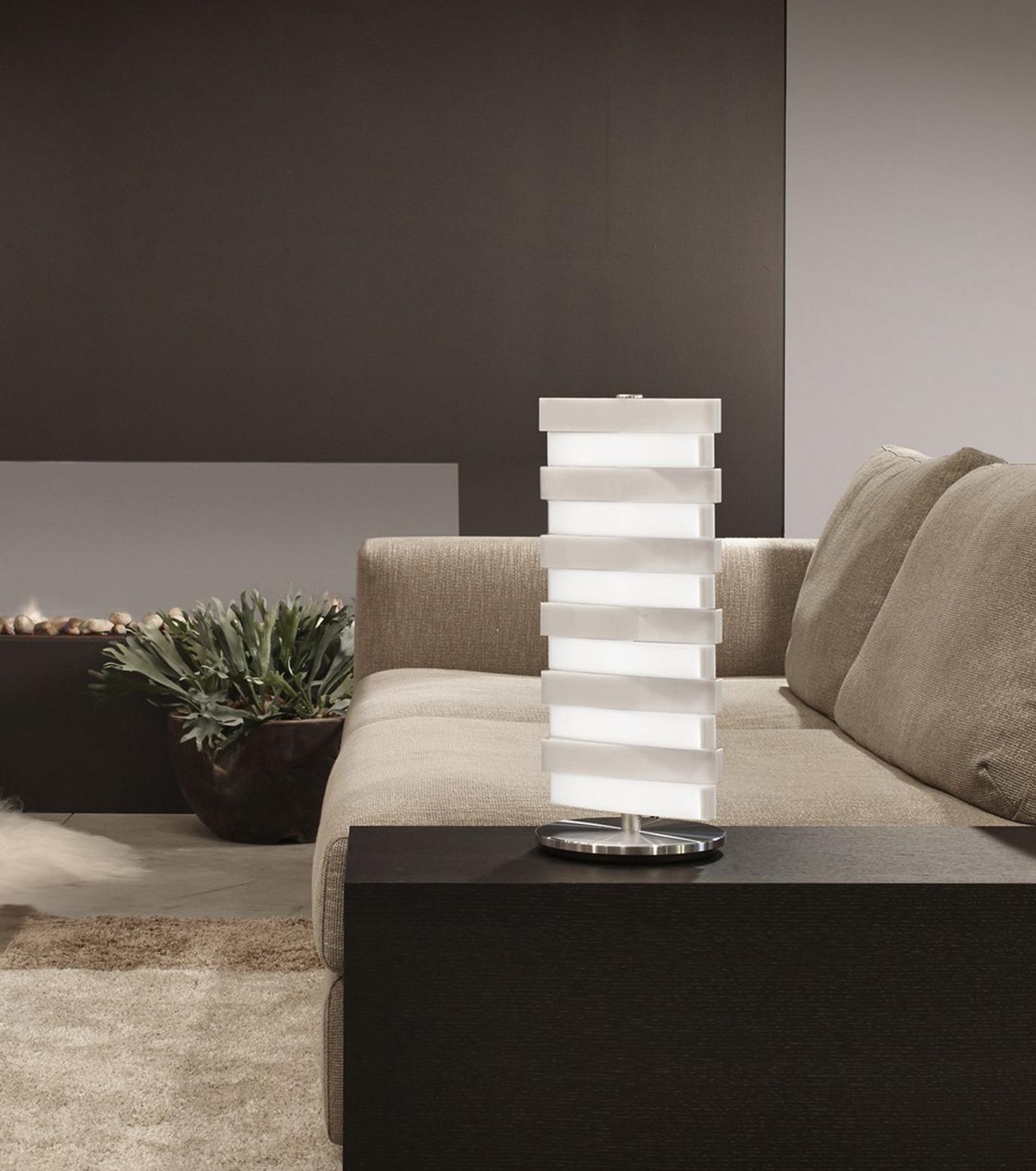 QisDesign(キスデザイン)のPiano Table Lamp-SILVER(ライト/light)-QDL0002-1 拡大詳細画像6