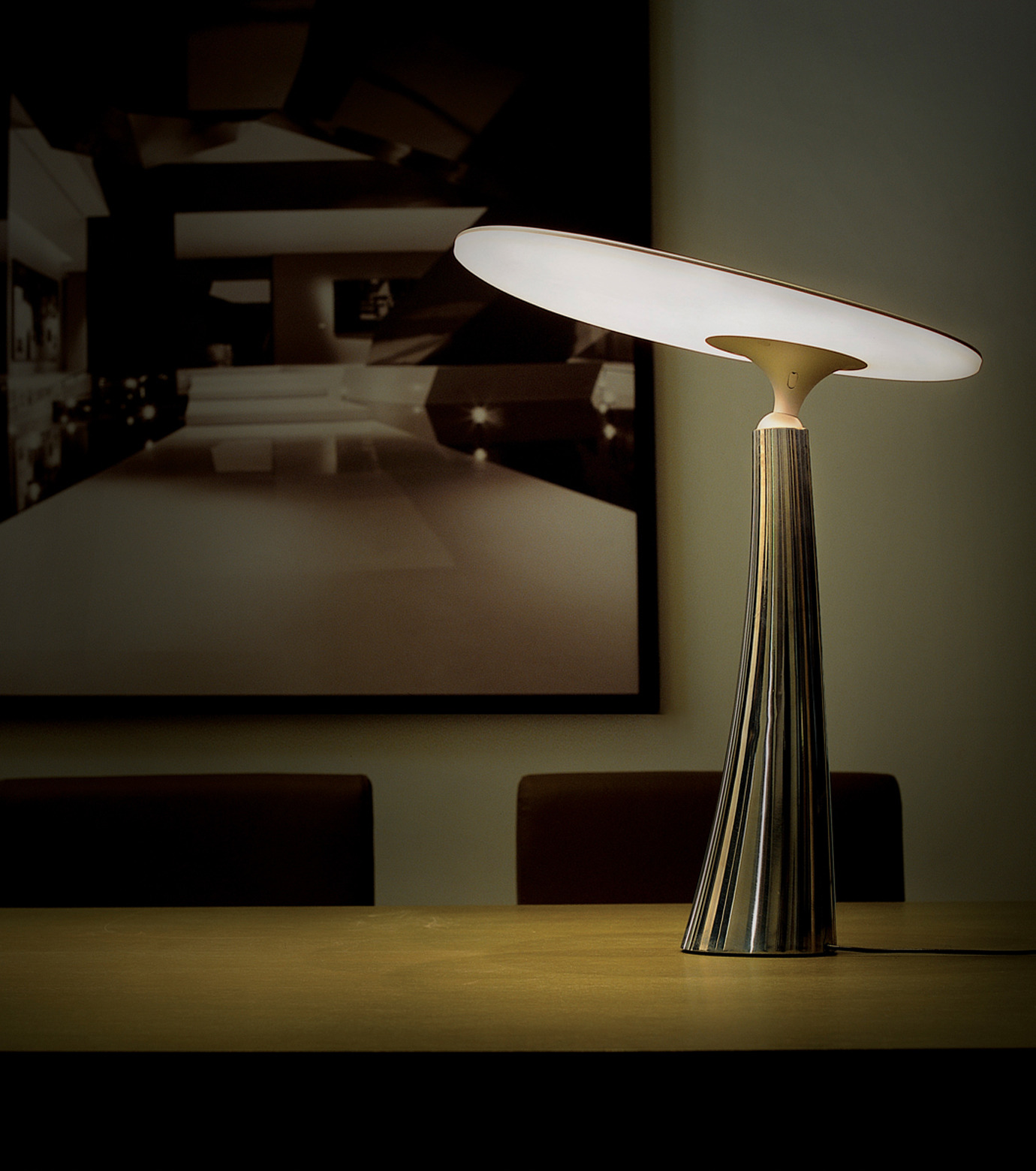 QisDesign(キスデザイン)のCoral Reef Table Lamp-SILVER(ライト/light)-QDL0005-1 拡大詳細画像3
