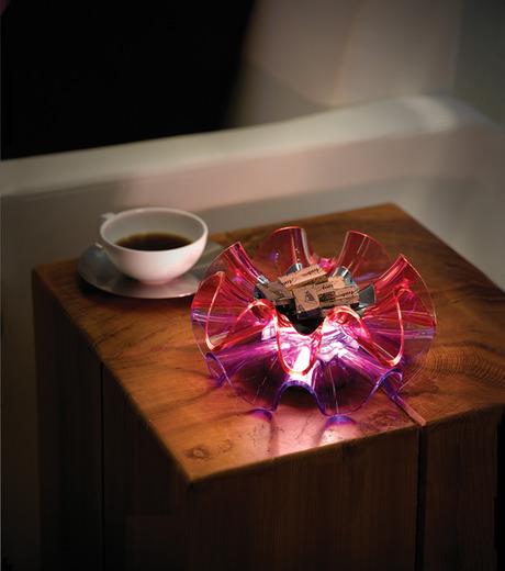 QisDesign(キスデザイン)のFlamenca Table Lamp-PINK(ライト/light)-QDL0006-72 詳細画像5
